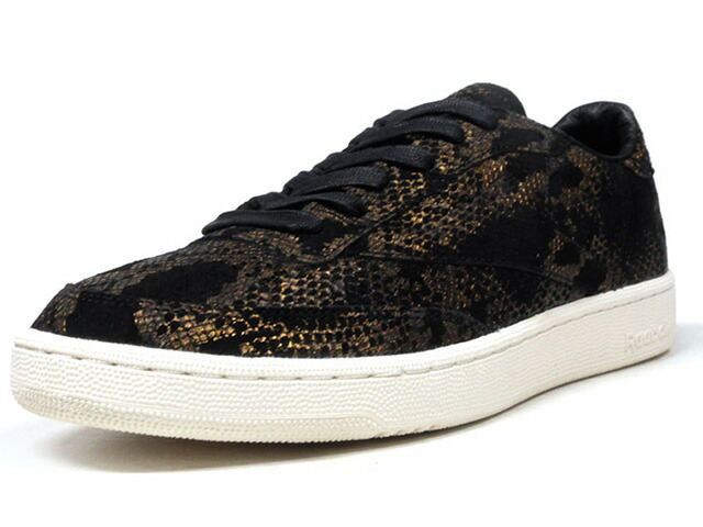 "Reebok CLUB C 85 AFF ""LIMITED EDITION""  BLK/GLD (CM9621)"