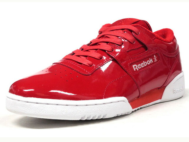"Reebok WORKOUT LO CLEAN OC ""OPENING CEREMONY""  RED/WHT (CN5698)"