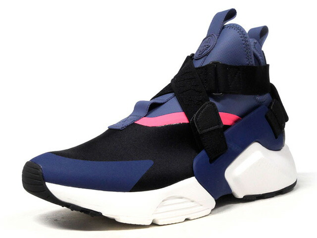 "NIKE (WMNS) AIR HUARACHE CITY ""LIMITED EDITION for NSW BEST""  BLK/NVY/PNK/WHT (AH6787-002)"