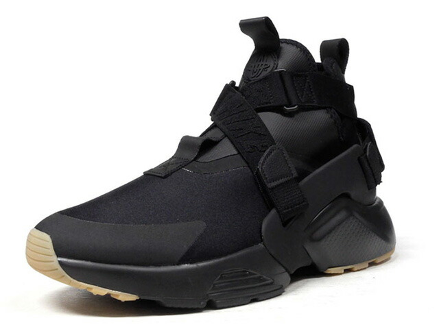 "NIKE (WMNS) AIR HUARACHE CITY ""LIMITED EDITION for NSW BEST""  BLK/BLK (AH6787-003)"