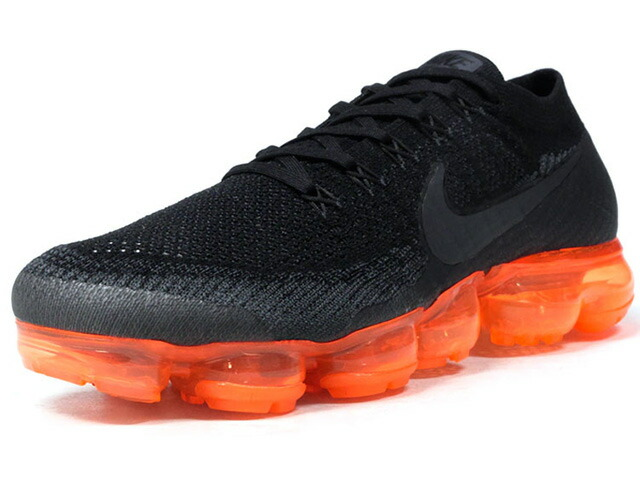 "NIKE AIR VAPORMAX FLYKNIT ""ANTHRACITE/RUSH ORANGE"" ""LIMITED EDITION for RUNNING FLYKNIT""  BLK/C.GRY/ORG (AH8449-001)"