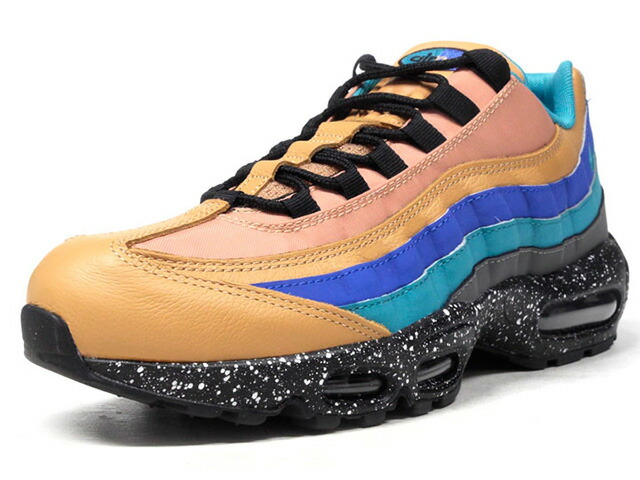 "NIKE AIR MAX 95 PRM ""LIMITED EDITION for ICONS""  BGE/BLU/SAX/E.GRN/BLK (538416-204)"