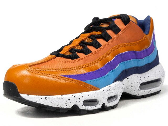 "NIKE AIR MAX 95 PRM ""LIMITED EDITION for ICONS""  BRN/PPL/SAX/NVY/WHT (538416-800)"