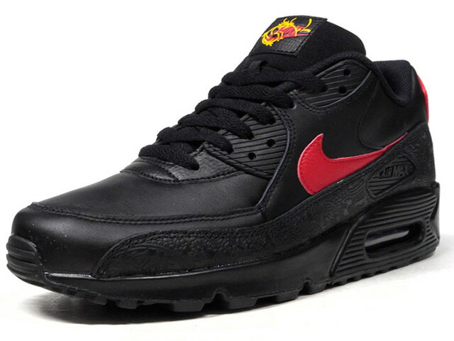 "NIKE AIR MAX 90 F ""RUSSIAN FLORAL"" ""LIMITED EDITION for ICONS""  BLK/RED (AO3152-001)"