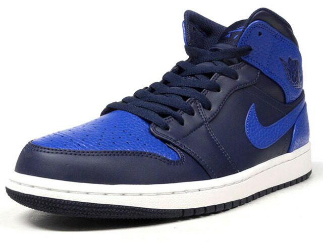 "NIKE AIR JORDAN 1 MID ""MICHAEL JORDAN"" ""LIMITED EDITION for JORDAN BRAND""  NVY/BLU (554724-412)"