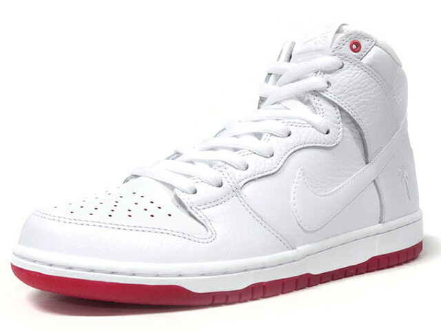 "NIKE DUNK HIGH PRO QS ""KEVIN BRADLEY"" ""LIMITED EDITION for NONFUTURE""  WHT/RED (AH9613-116)"