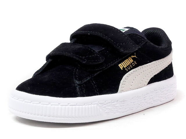 "Puma SUEDE 2 STRAPS KIDS ""LIMITED EDITION for PRIME""  BLK/WHT (356274-01)"