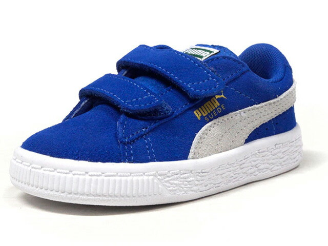 "Puma SUEDE 2 STRAPS KIDS ""LIMITED EDITION for PRIME""  BLU/WHT (356274-02)"