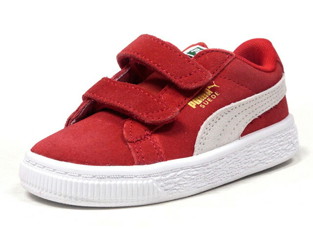 "Puma SUEDE 2 STRAPS KIDS ""LIMITED EDITION for PRIME""  RED/WHT (356274-03)"