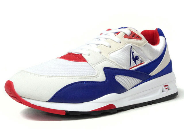 "le coq sportif LCS R 800 BBR ""TRICOLORE PACK"" ""LIMITED EDITION for BETTER +""  WHT/BLU/RED (QL1LJC04WB)"