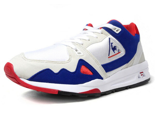 "le coq sportif LCS R 1000 BBR ""TRICOLORE PACK"" ""LIMITED EDITION for BETTER +""  WHT/BLU/RED (QL1LJC03WH)"
