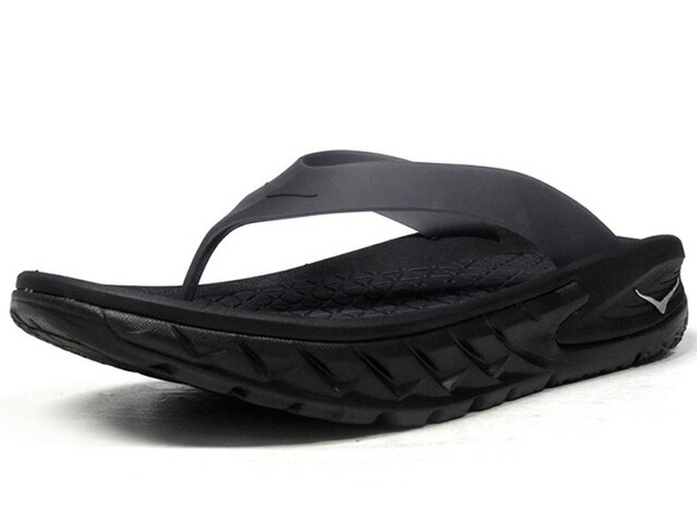 HOKA ONE ONE ORA RECOVERY FLIP  BLK/BLK (1018352BLK)