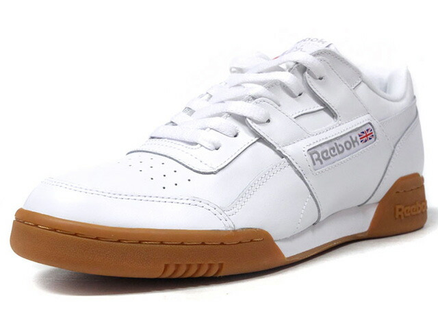 "Reebok WORKOUT PLUS ""LIMITED EDITION""  WHT/GUM (CN2126)"