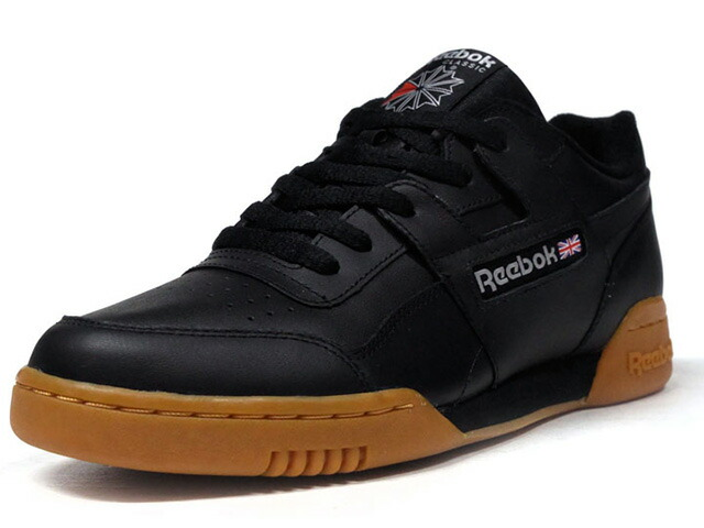 "Reebok WORKOUT PLUS ""LIMITED EDITION""  BLK/GUM (CN2127)"