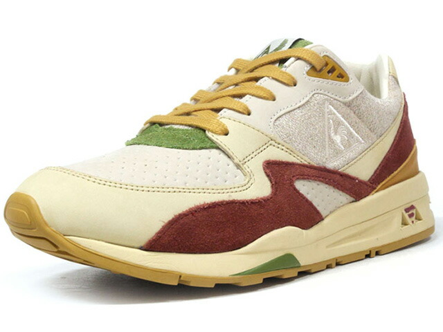 "le coq sportif LCS R 800 HUMMUS ""SneakerBox"" ""LIMITED EDITION for Le CLUB""  BGE/BGD/GRN/L.BRN (1810875)"