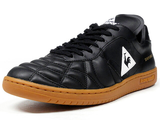 "le coq sportif PLUME X ""FOOTBALL PACK"" ""mita sneakers Direction""  BLK/GUM (QL1LJC10BK)"