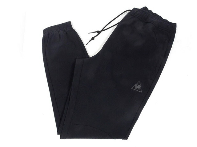 "le coq sportif TAPERED PANTS ""FOOTBALL PACK""  BLK/BLK (QLMLJD20MT)"