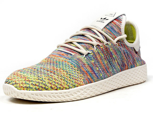"adidas PW TENNIS HU PK ""MULTI"" ""PHARRELL WILLIAMS"" ""HU COLLECTION""  MULTI/YEL/WHT (CQ2631)"