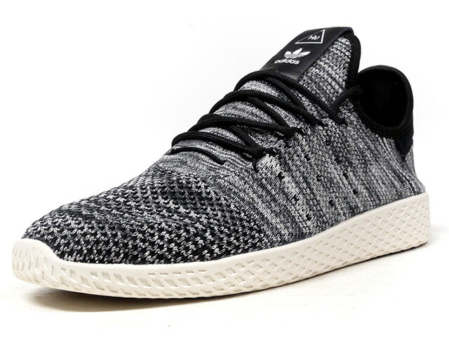 "adidas PW TENNIS HU PK ""OREO"" ""PHARRELL WILLIAMS"" ""HU COLLECTION""  GRY/BLK/WHT (CQ2630)"