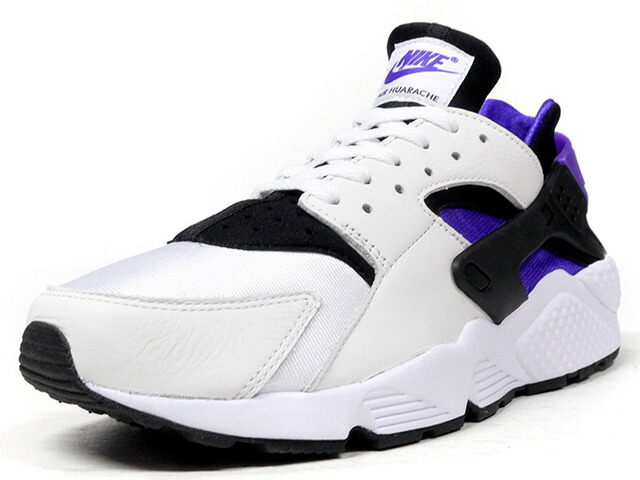 "NIKE AIR HUARACHE RUN '91 QS ""LIMITED EDITION for NONFUTURE""  WHT/BLK/PPL (AH8049-001)"