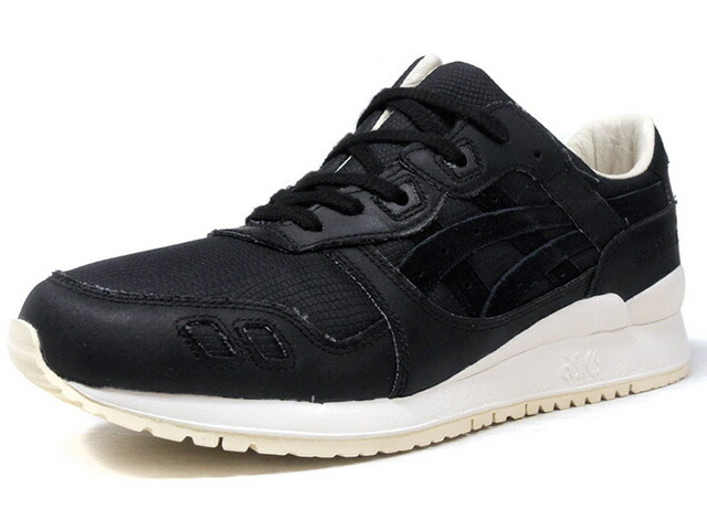 "ASICSTIGER GEL-LYTE III ""DAIKI TANNER COTTON PACK"" ""LIMITED EDITION""  BLK/O.WHT (H842N-9090)"