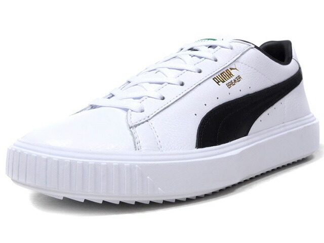 "Puma BREAKER LEATHER ""LIMITED EDITION for PRIME""  WHT/BLK (366078-02)"
