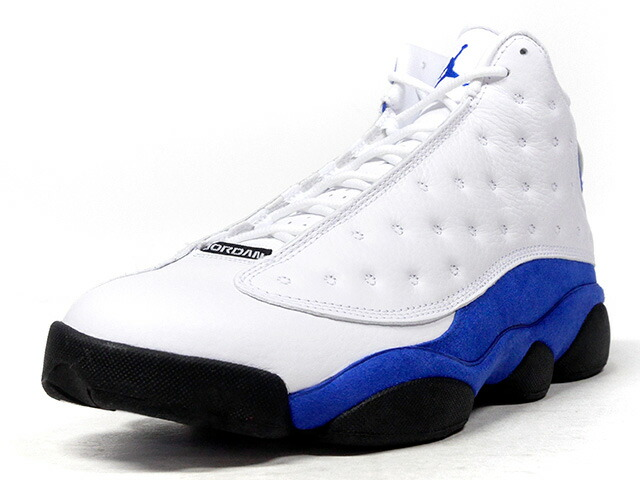 "NIKE AIR JORDAN 13 RETRO ""HYPER ROYAL"" ""MICHAEL JORDAN"" ""LIMITED EDITION for JORDAN BRAND""  WHT/BLU/BLK (414571-117)"