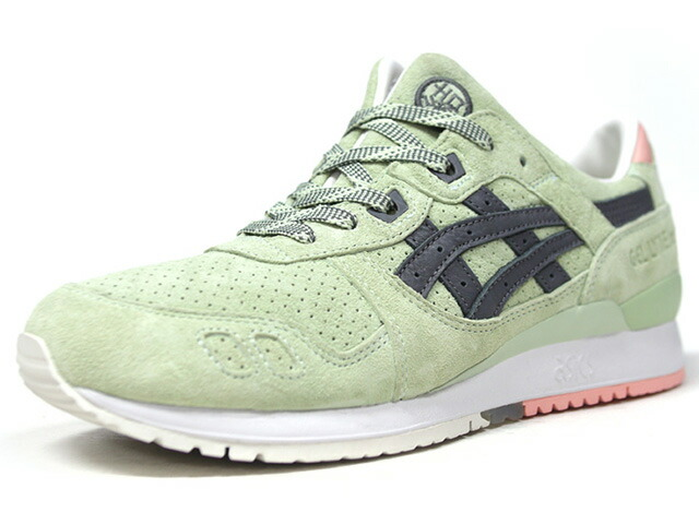 "ASICSTIGER GEL-LYTE III ""WASABI"" ""END.""  M.GRN/GRY/L.PNK/WHT (H7LPK-8512)"