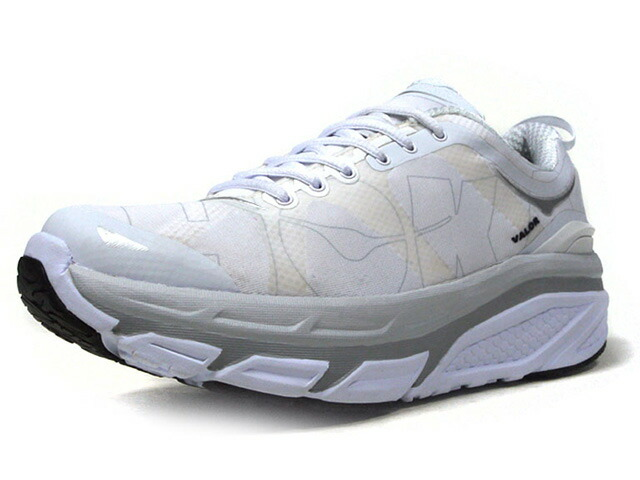 "HOKA ONE ONE VALOR ""LIMITED EDITION""  WHT/GRY/SLV/BLK (1007872WHT)"