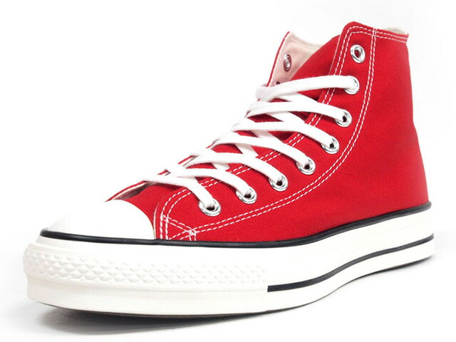"CONVERSE CANVAS ALL STAR J HI ""made in JAPAN"" ""LIMITED EDITION""  RED/NAT (32067962)"