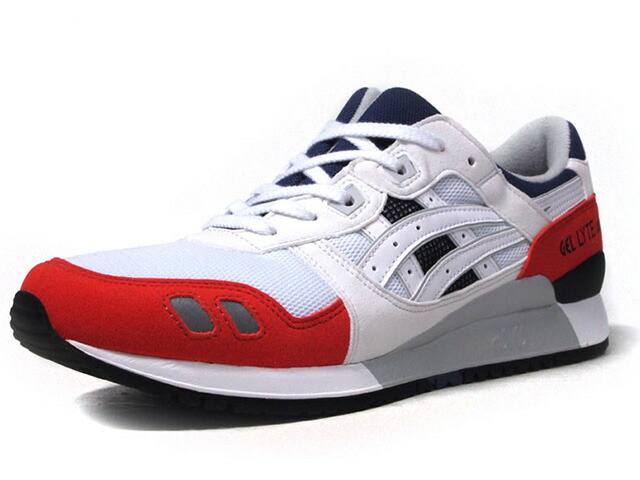 "ASICSTIGER GEL-LYTE III ""LIMITED EDITION""  WHT/RED/NVY/BLK (H819Y-0101)"