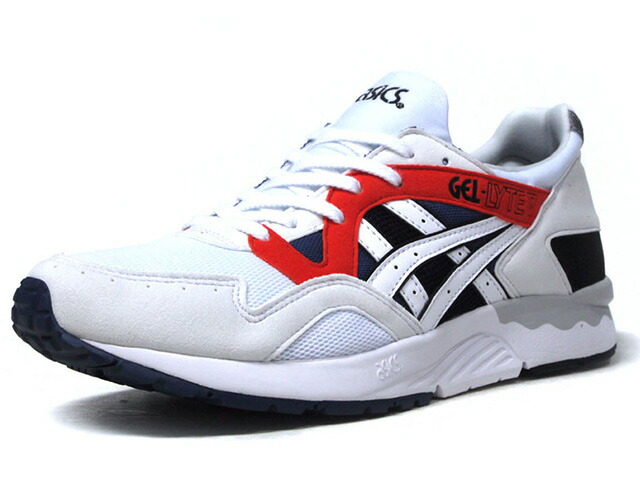 "ASICSTIGER GEL-LYTE V ""LIMITED EDITION""  WHT/RED/NVY/BLK (H831Y-0101)"