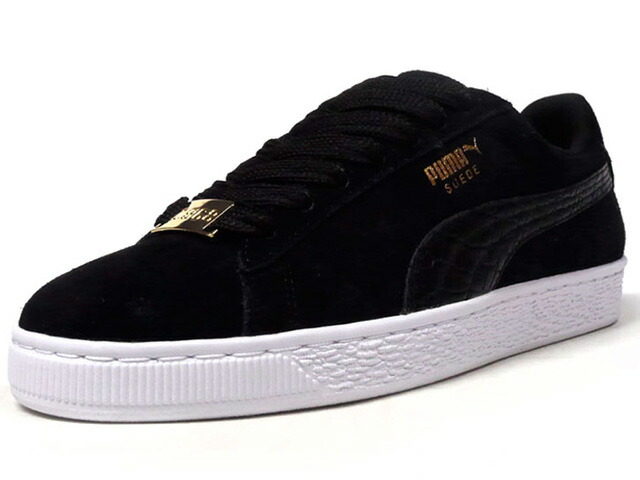"Puma SUEDE CLASSIC B-BOY FABULOUS ""SUEDE 50th ANNIVERSARY"" ""KA LIMITED EDITION""  BLK/WHT (366492-01)"