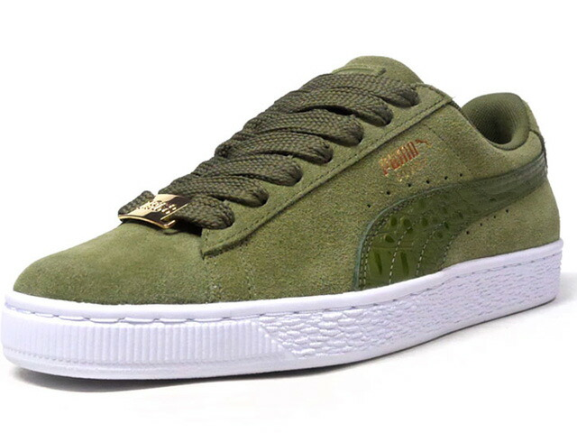 "Puma SUEDE CLASSIC B-BOY FABULOUS ""SUEDE 50th ANNIVERSARY"" ""KA LIMITED EDITION""  OLV/WHT (366492-02)"