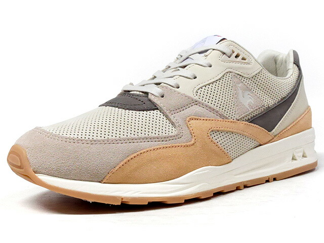 """le coq sportif LCS R 800 MIF NUBUCK """"made in FRANCE"""" """"DESERT VALLEE PACK"""" """"LIMITED EDITION for Le CLUB""""  BGE/L.BRN/GRY/NAT/GUM (1810275)"""