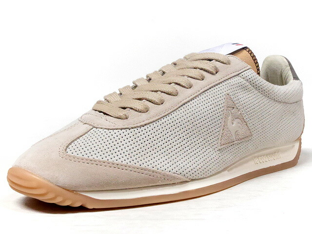"le coq sportif QUARTZ MIF NUBUCK ""made in FRANCE"" ""DESERT VALLEE PACK"" ""LIMITED EDITION for Le CLUB""  BGE/L.BRN/GRY/NAT/GUM (1810277)"