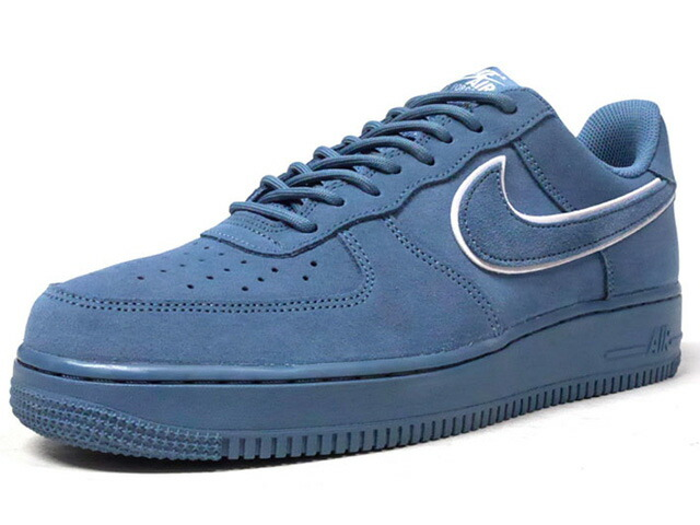 "NIKE AIR FORCE 1 07 LV8 SUEDE ""LIMITED EDITION for ICONS""  NVY/WHT/NVY (AA1117-400)"