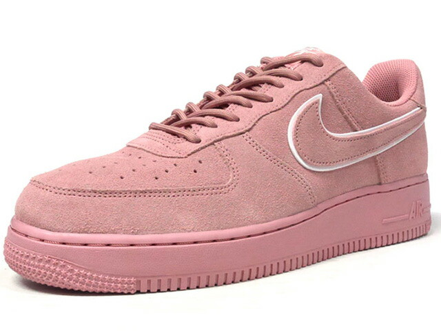 "NIKE AIR FORCE 1 07 LV8 SUEDE ""LIMITED EDITION for ICONS""  L.PNK/WHT/L.PNK (AA1117-601)"
