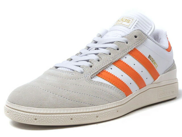 "adidas BUSENITZ ""LIMITED EDITION""  WHT/GRY/ORG (CQ1155)"