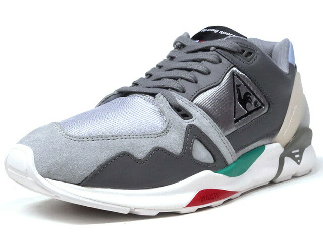 "le coq sportif LCS R 921 ""LIMITED EDITION for BETTER +""  GRY/L.GRY/SAX/E.GRN/RED/WHT (QL1LJC08GY)"