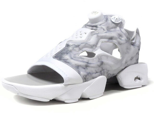 "Reebok (WMNS) INSTAPUMP FURY SANDAL ""LIMITED EDITION""  WHT/GRY (V69440)"