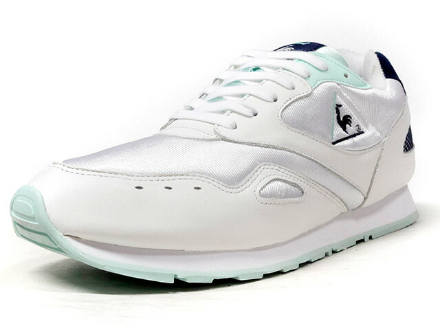 "le coq sportif FLASH ""24 kilates"" ""LIMITED EDITION for Le CLUB""  WHT/NVY/E.GRN (1810726)"