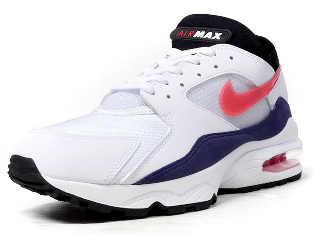 "NIKE AIR MAX 93 ""FLAME RED"" ""LIMITED EDITION for NSW""  WHT/BLK/RED/NVY (306551-102)"