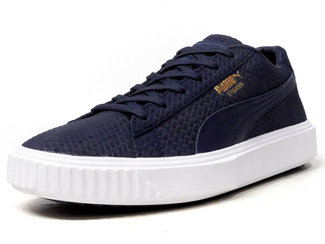 "Puma BREAKER SUEDE ""LIMITED EDITION for PRIME""  NVY/WHT (366077-04)"