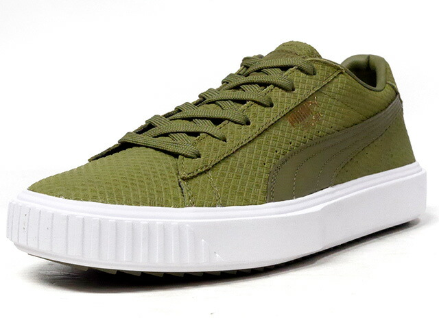 """Puma BREAKER SUEDE """"LIMITED EDITION for PRIME""""  OLV/WHT (366077-05)"""