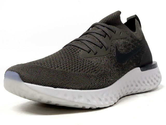 "NIKE EPIC REACT FLYKNIT ""LIMITED EDITION for RUNNING""  OLV/BLK/GRY (AQ0067-300)"