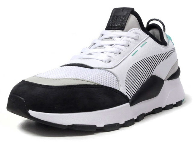 """Puma RS-0 RE-INVENTION """"RS RE-INVENTION PACK"""" """"KA LIMITED EDITION""""  WHT/BLK/L.GRY/M.GRN (366887-01)"""