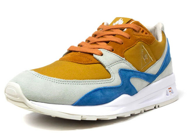 "le coq sportif LCS R 800 X HANON ""THE GOOD AGREEMENT"" ""HANON"" ""LIMITED EDITION for Le CLUB""  L.BRN/M.GRN/BLU/WHT (1810529)"