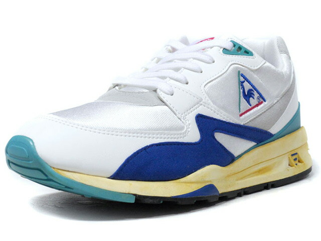 "le coq sportif LCS R 800 OG ""OG PACK"" ""LIMITED EDITION for SELECT""  WHT/BLU/E.GRN/NAT (1820525)"