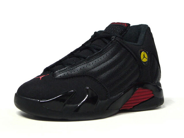 "JORDAN BRAND JORDAN 14 RETRO BP ""LAST SHOT"" ""MICHAEL JORDAN"" ""LIMITED EDITION for JORDAN BRAND""  BLK/RED/YEL (312092-003)"